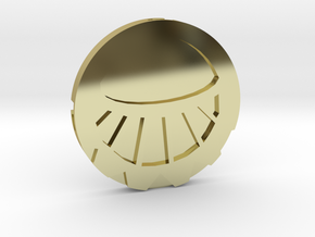 Medaillon Cités d'or - Soleil in 18K Gold Plated