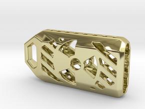 Radiation Lantern 1: Tritium (All Materials) in 18K Gold Plated