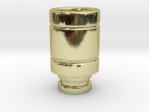 Magma styled drip tip in 18K Gold Plated