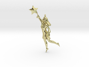Reach the Stars in 18K Gold Plated