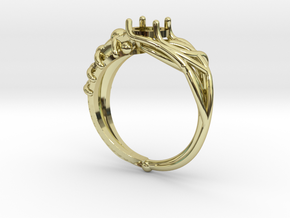 Duality Ring in 18K Gold Plated