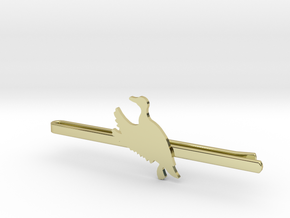 Duck 2 Tie Clip  in 18K Gold Plated