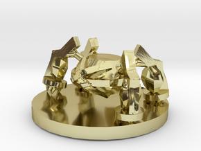 Metagross Pokemon in 18K Gold Plated