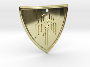 Dragon Age Shield in 18K Gold Plated