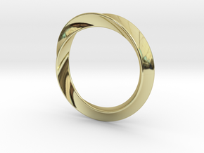 Heavy Bangle in 18K Gold Plated
