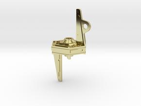 Inner Light Pendant in 18K Gold Plated