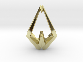 HEAD TO HEAD NoFear, Pendant  in 18K Gold Plated