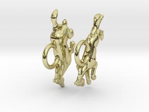 Running Horse Earrings in 18K Gold Plated