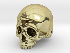 Skull Deko (big) in 18K Gold Plated