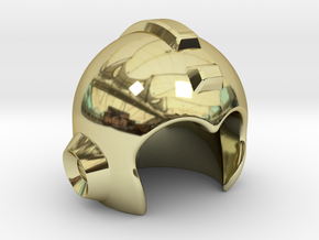 Mega Helmet in 18K Gold Plated