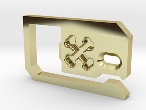 Belt Loop Key Hook Bottle Opener in 18K Gold Plated