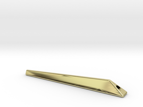 For iPhone Bumper 「truss」  Stand strap bar in 18K Gold Plated