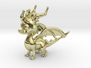 Spyro the Dragon in 18K Gold Plated