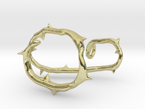 Thorned Heart thorns in 18K Gold Plated