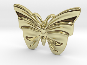 Monarch Butterfly in 18K Gold Plated