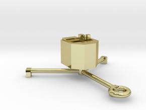 Philae Lander Pendant in 18K Gold Plated