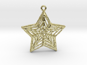 Star Pendant in 18K Gold Plated