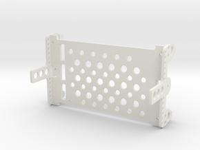 Assembly E-chassis Structure OpenROV V2.6 in White Strong & Flexible