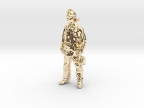 Fireman Joe in 14k Gold Plated Brass