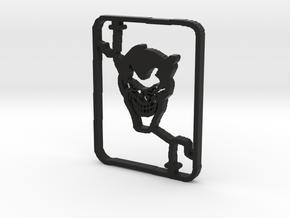 Joker in Black Natural Versatile Plastic