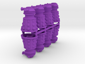 Dalek Post Version A 8x in Purple Processed Versatile Plastic