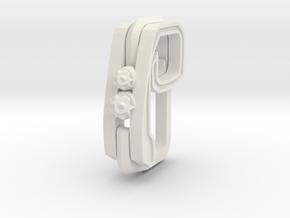 Pendant for rings in White Natural Versatile Plastic