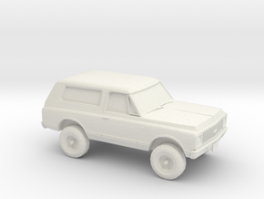1/87 1972 Chevy Blazer in White Strong & Flexible