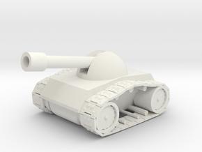 Tank-1 in White Natural Versatile Plastic