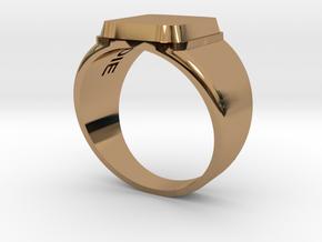 Ilya in Polished Brass