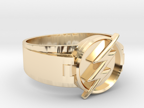 Flash Ring Size 11.5 21.08 mm  in 14K Yellow Gold