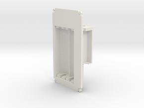 1590B Battery Lid (SX350) in White Natural Versatile Plastic