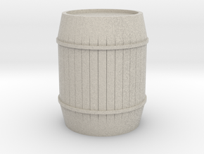 Barrel in Natural Sandstone
