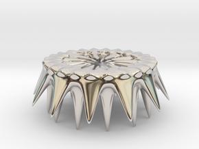 Thorns Of The Sea Coaster in Platinum