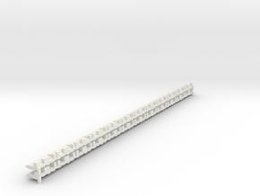 P-165st-short-track-border-x24-1a in White Natural Versatile Plastic
