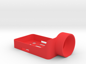 Mobius holder for ZMR250 frame in Red Processed Versatile Plastic
