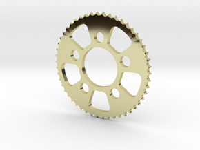 Sprocket Pendant in 18k Gold Plated
