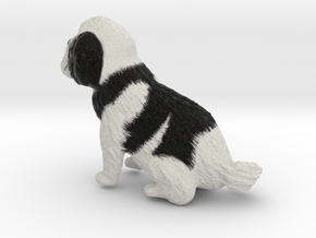 5 Inch Dog in Full Color Sandstone