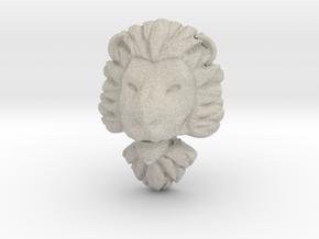 Pendant for ring2(lion) in Natural Sandstone