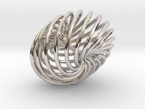 Knot 5  in Platinum
