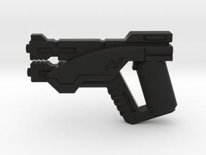 Fleet Service Pistol in Black Natural Versatile Plastic