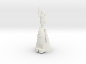 Printable Loki in White Natural Versatile Plastic
