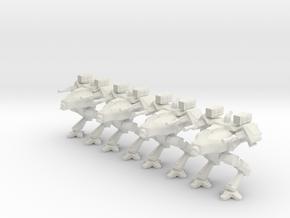 Walker Platoon 6mm in White Natural Versatile Plastic