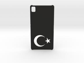 Sony Xperia Z3 Case: Turkey in Black Natural Versatile Plastic