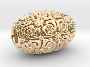 PA Sharm V4 H22x14SE84bu1v1a10f Wax in 14k Gold Plated Brass