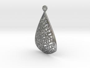 PA Pendant Ef002Se731U23H30a07 in Natural Silver