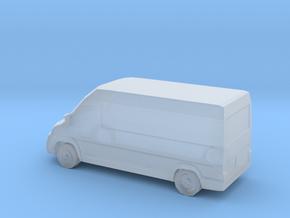 RAM Promaster/Fiat Ducato van (Small Scale) in Smooth Fine Detail Plastic: 1:400