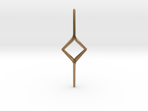 YOUNIVERSAL Y2, Pendant. Soft Chic in Natural Brass