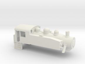 S100 - TT - 1:120 in White Natural Versatile Plastic