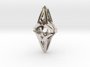 HEART TO HEART Heartinator, Pendant in Rhodium Plated Brass