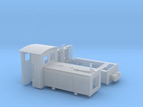 Feldbahnlok LKM Ns3f Spur 0e/0f 1:45 Variante 2 in Smooth Fine Detail Plastic